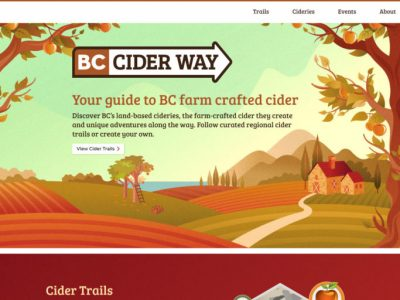 BC Cider Way home page